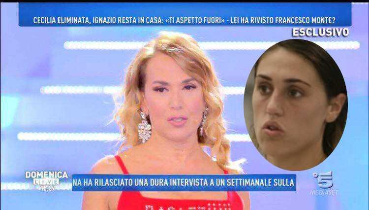 Galleria foto - Grande Fratello VIP Cecilia umiliata a Domenica Live Foto 2