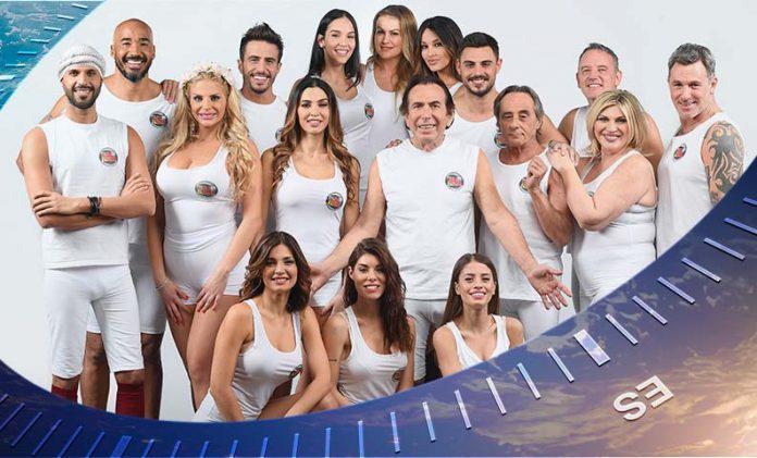 isola famosi 2018 cast
