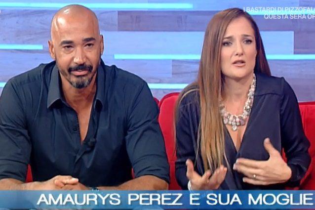 Amaurys Perez Angela moglie