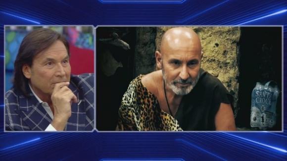 Merola insulta Maurizio Battista: Enrico Silvestrin furioso al Grande Fratello Vip