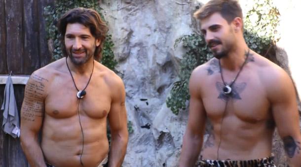 walter-nudo-francesco-monte-grande-fratello-vip