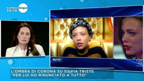 Silvia Provvedi rinnega Fabrizio Corona