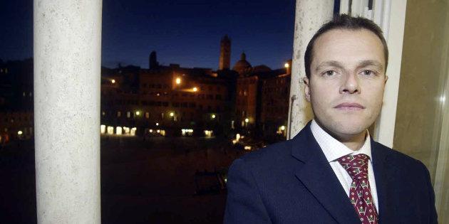 David Rossi, the spokesman of Monte Paschi di Siena, is pictured