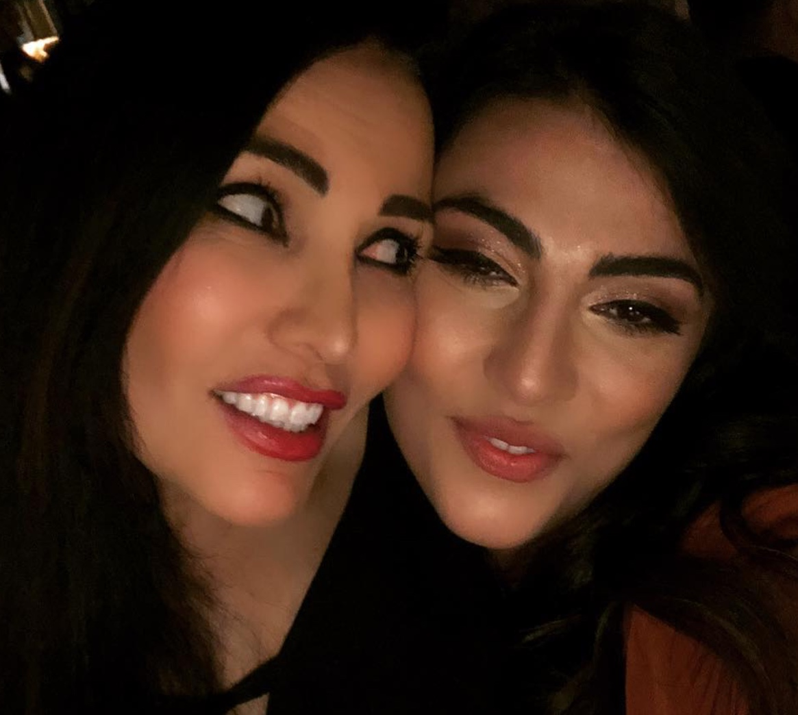 Giulia Salemi e Fariba Tehrani