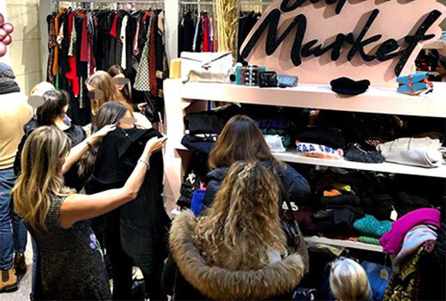 Galleria foto - Belen e Cecilia vendono i loro vestiti, le foto Foto 1