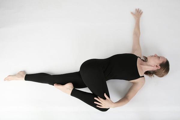 Allungamento del gluteo per rilassare la schiena