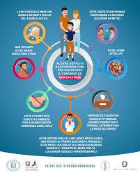 locandina Ministero salute coronavirus