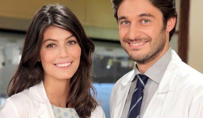 Lino guanciale Alessandra Mastronardi