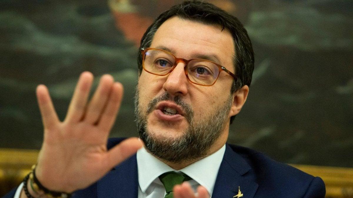Matteo Salvini occhiali