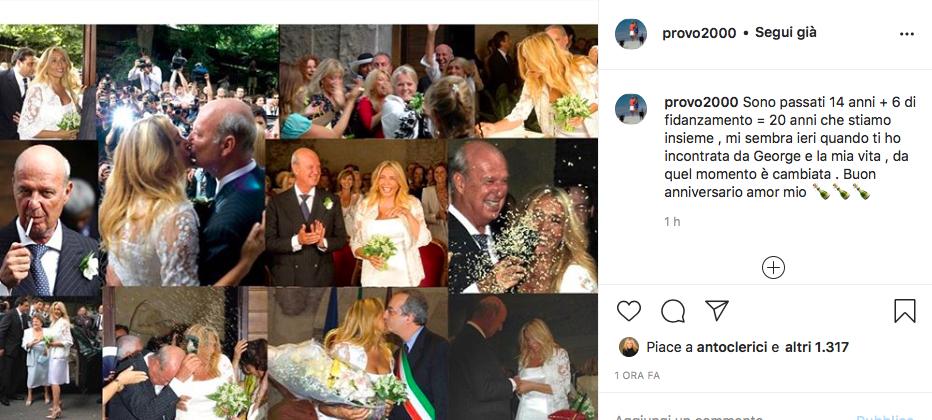 mara venier Nicola Carraro