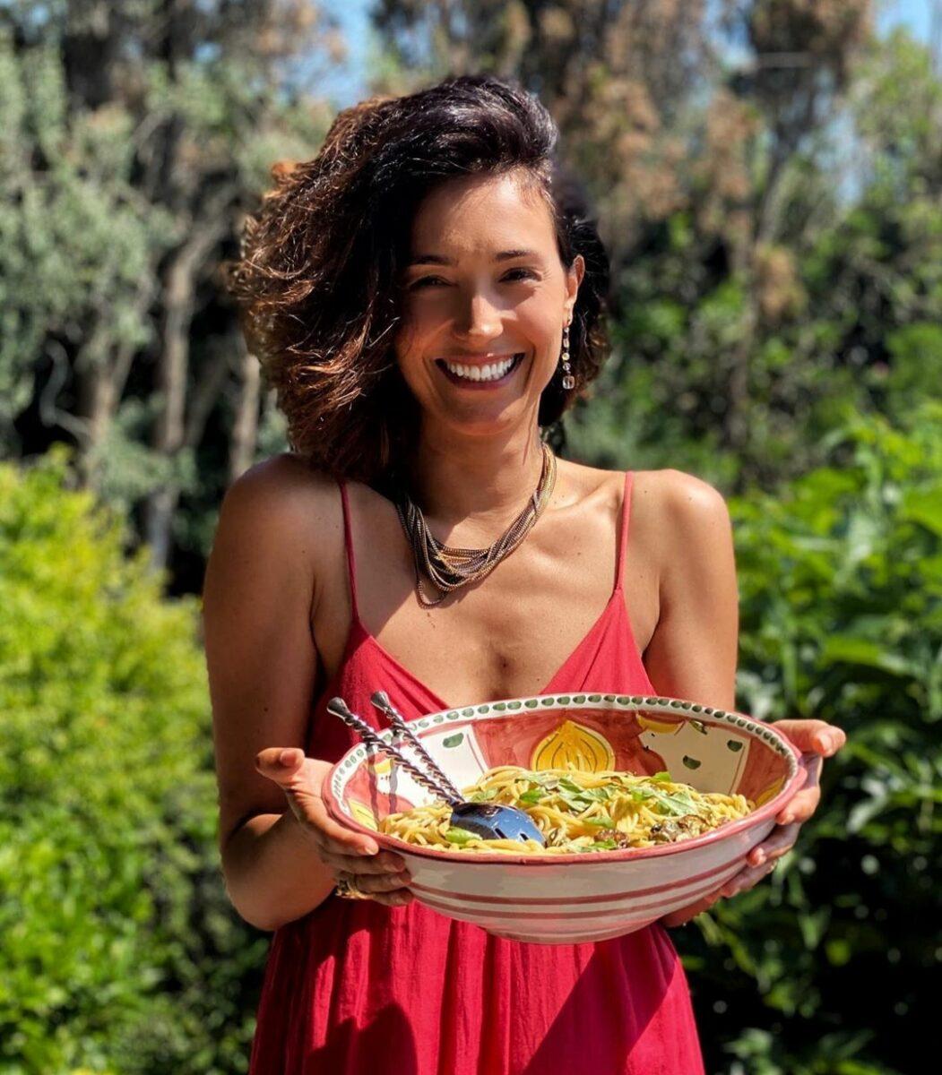 Caterina Balivo spaghetti IMG-20200702-103104
