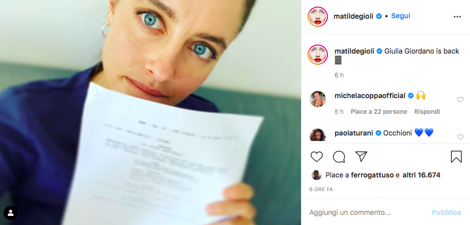 Matilde Gioli Doc