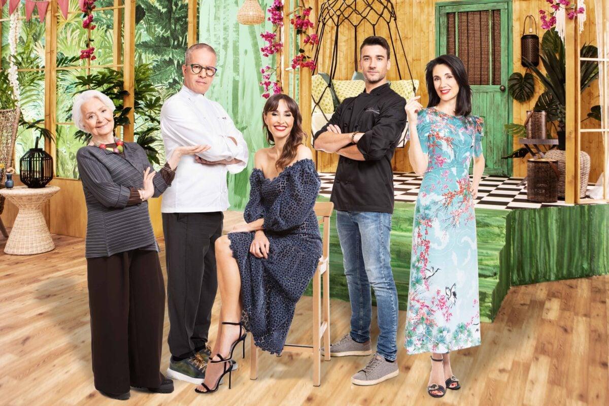 REAL TIME-BAKE OFF ITALIA-cast-Benedetta Parodi, Clelia d'Onofrio, Csaba dalla Zorza, Ernst Knam, Damiano Carrara-IMG-9192-4-a
