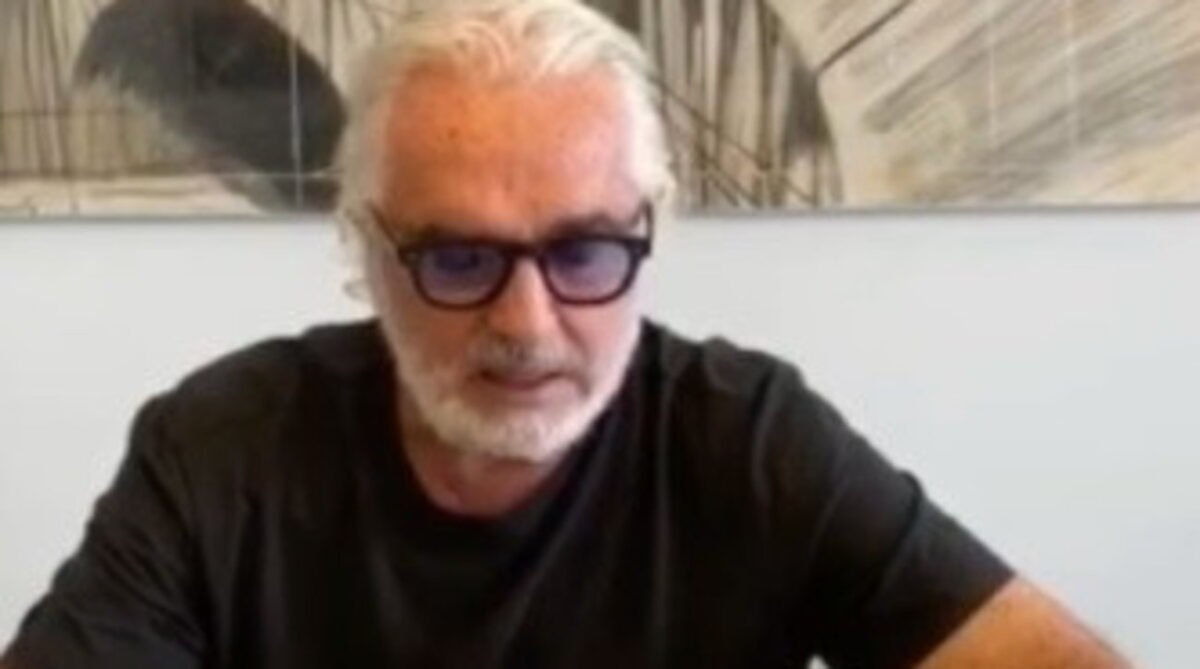 Flavio Briatore video post guaarigione