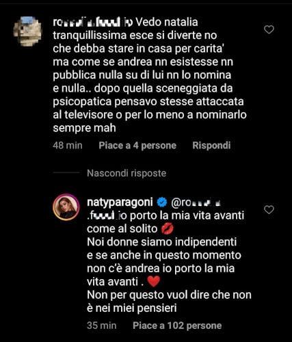 natalia-paragoni-critiche-instagram