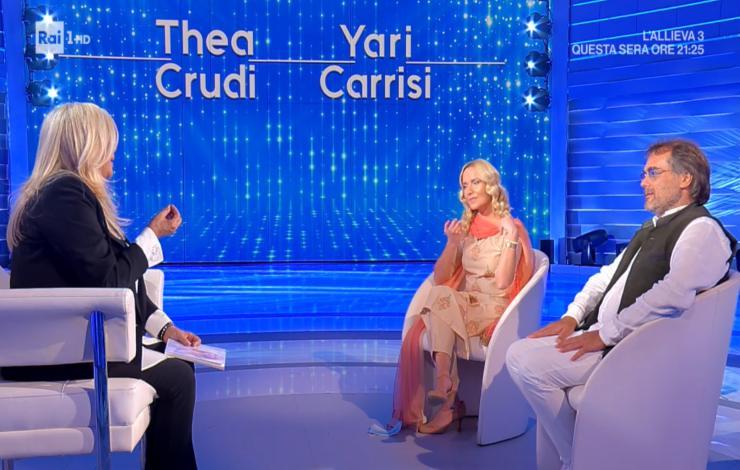 Domenica In: Mara Venier e quel regalo incredibile di Yari Carrisi