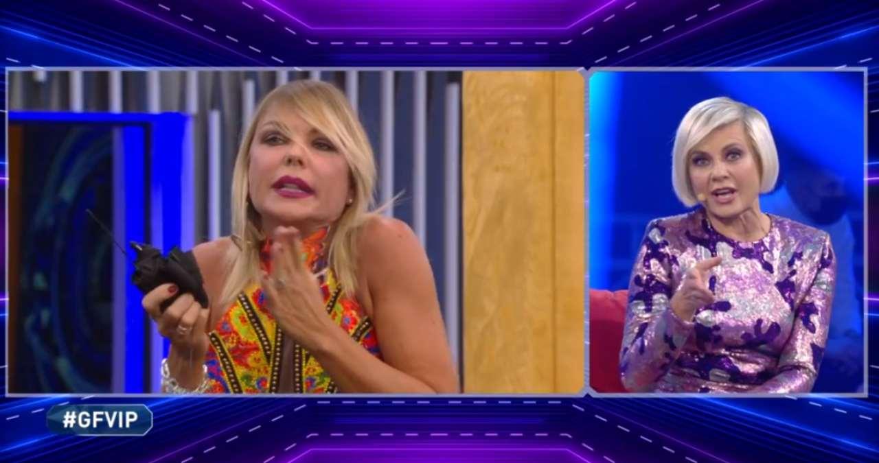Antonella-Elia-contro-Matilde-Brandi