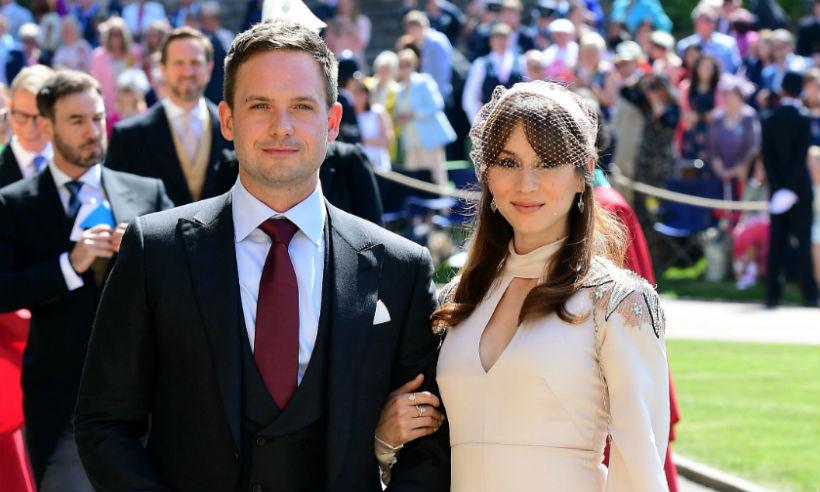 Patrick-J-Adams-Troian-Bellisario-royal-wedding-t