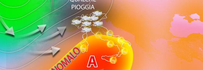 Meteo ottobre: caldo anomalo in arrivo