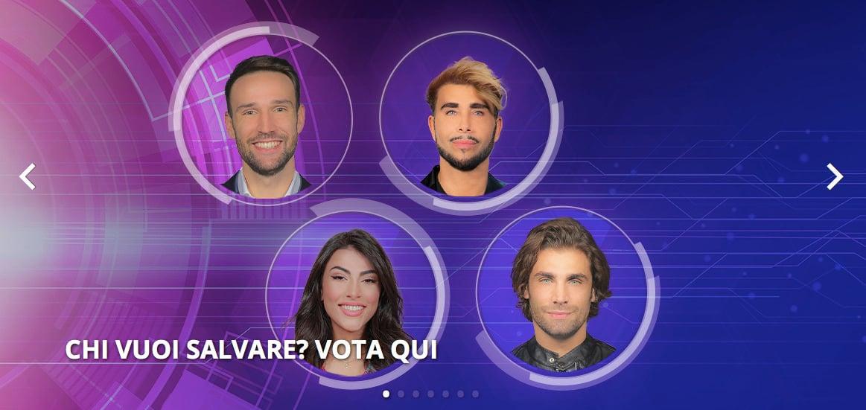 GF Vip nomination: Ermito, Salemi, Zenga e Urtis a rischio eliminazione