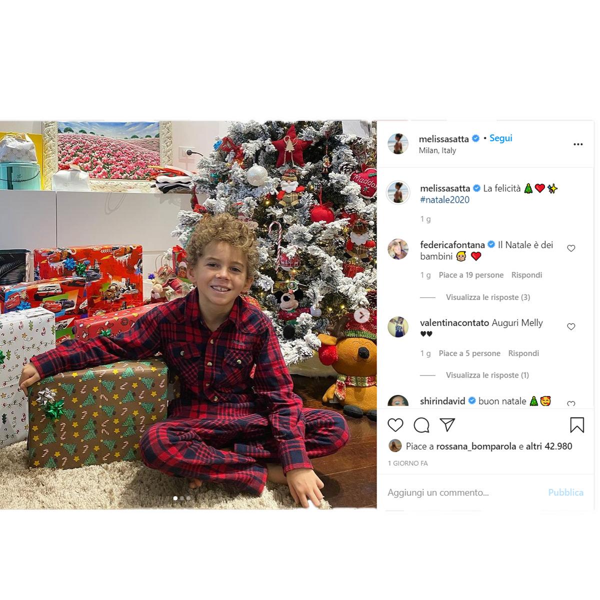 Boteng – Melissa Satta: ultimo Natale in famiglia