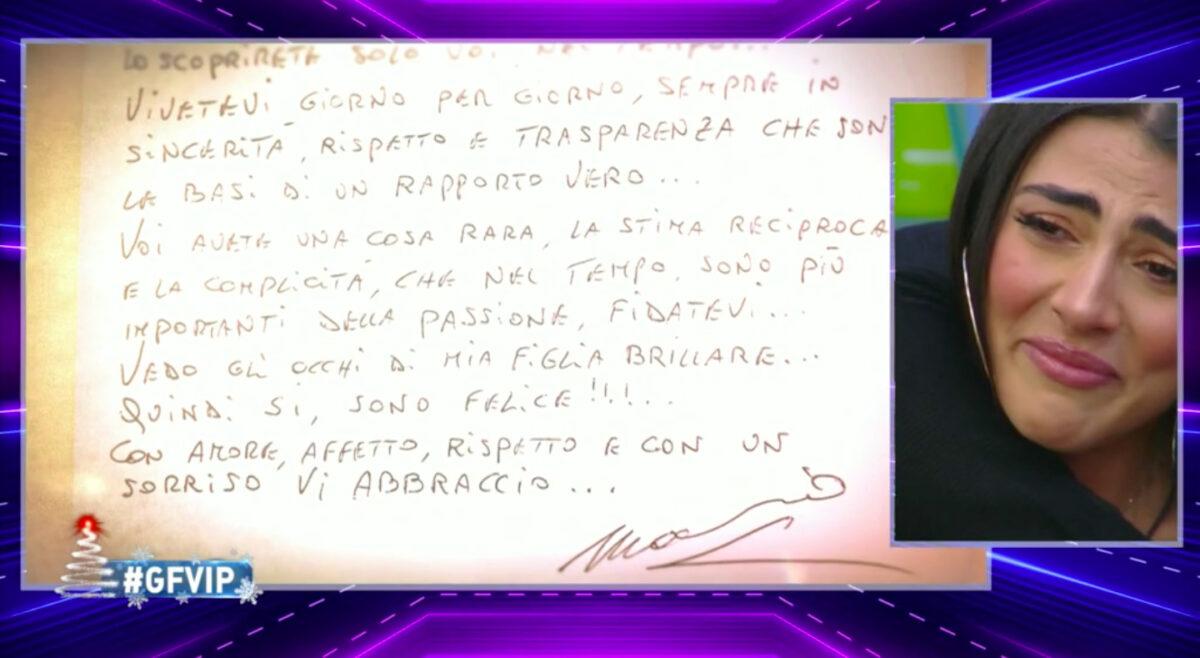 GF Vip, Salemi-Pretelli: il padre di Giulia approva