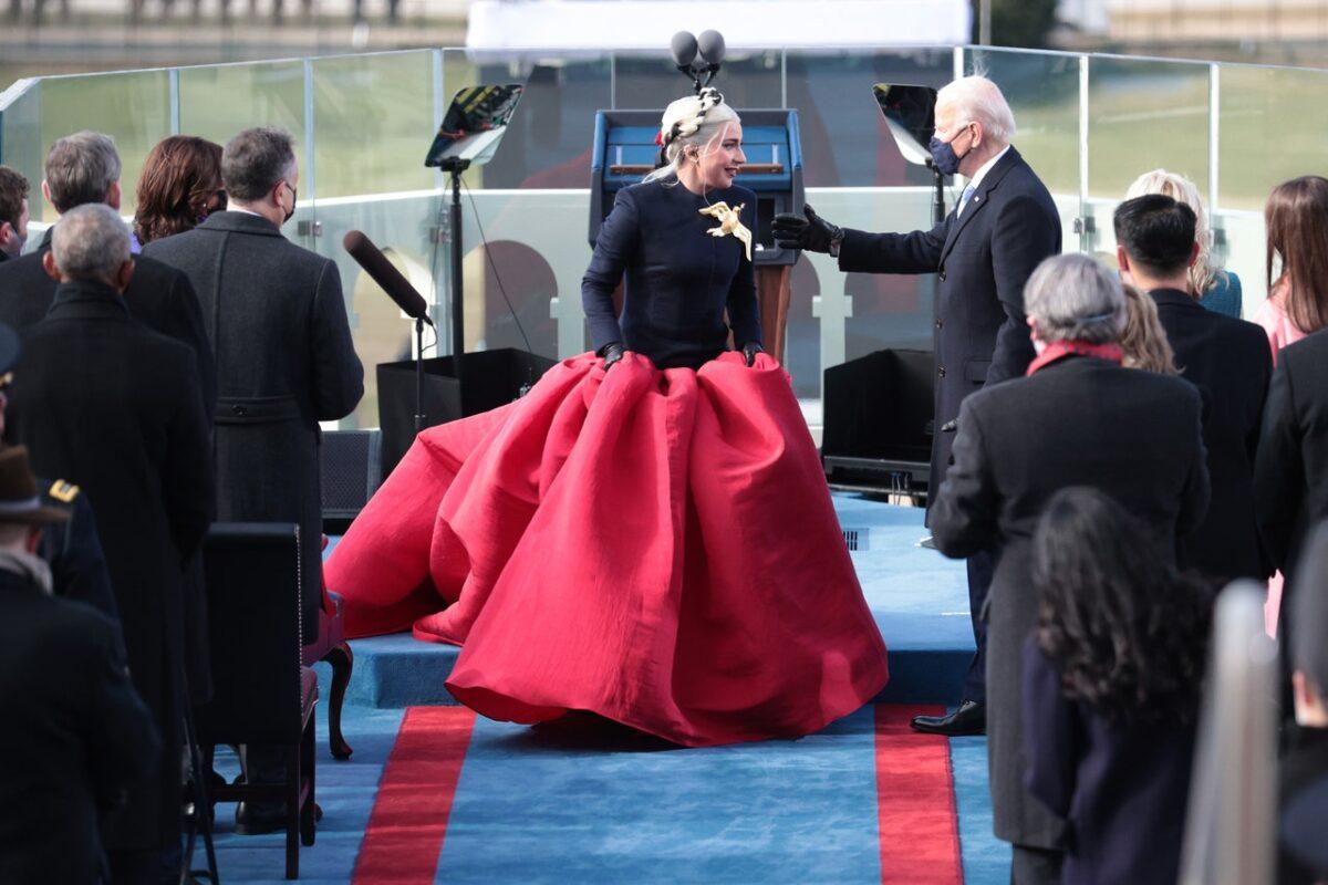 Lady Gaga in Custom Schiaparelli Haute Couture 1