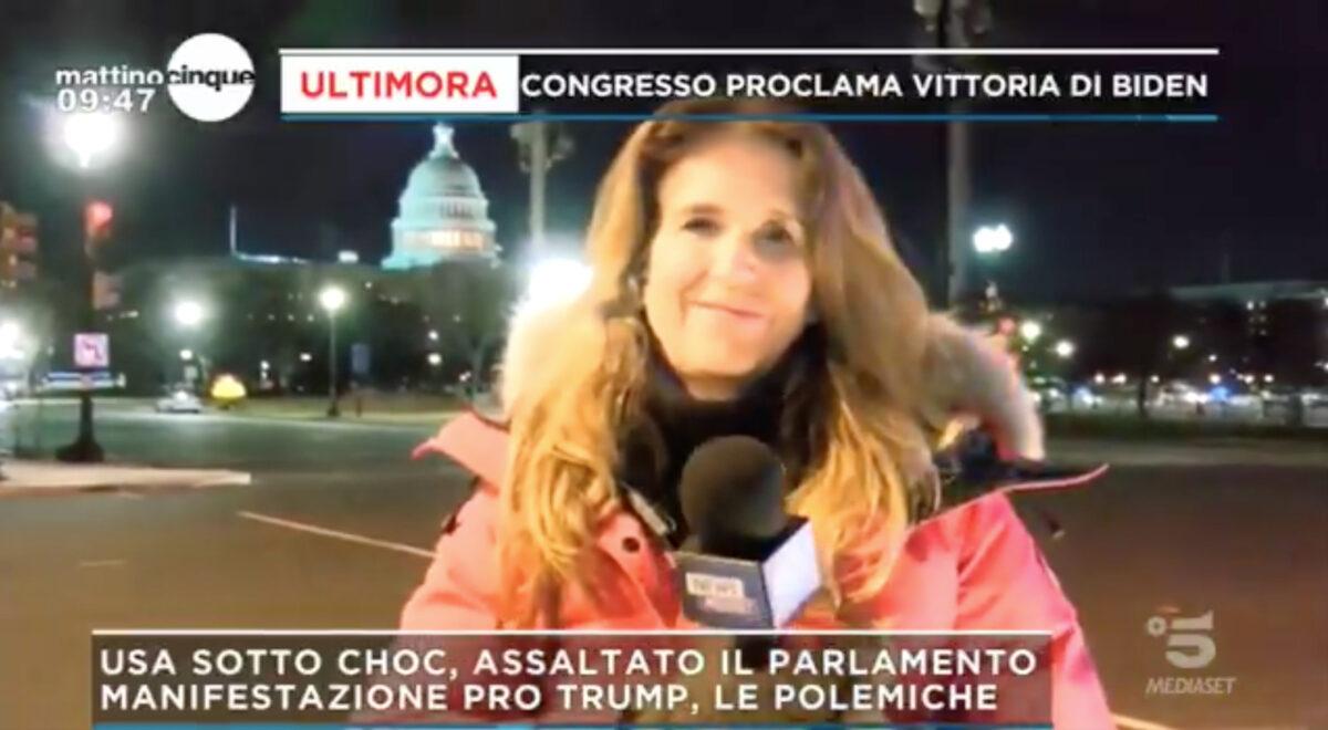 Mattino 5, USA: ore di tensione e scontri in parlamento