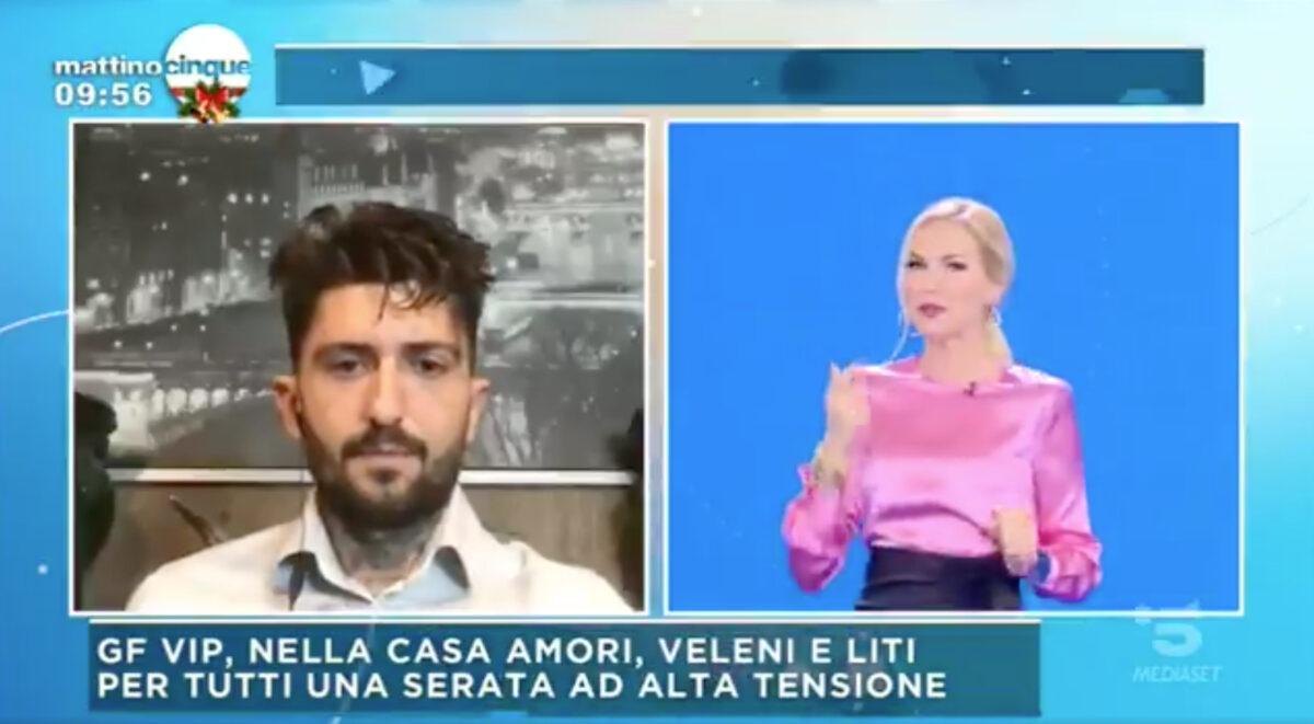 Mattino 5: il paparazzo Andrea Franco Alajmo inguaia Diletta Leotta ed Eros Ramazzotti