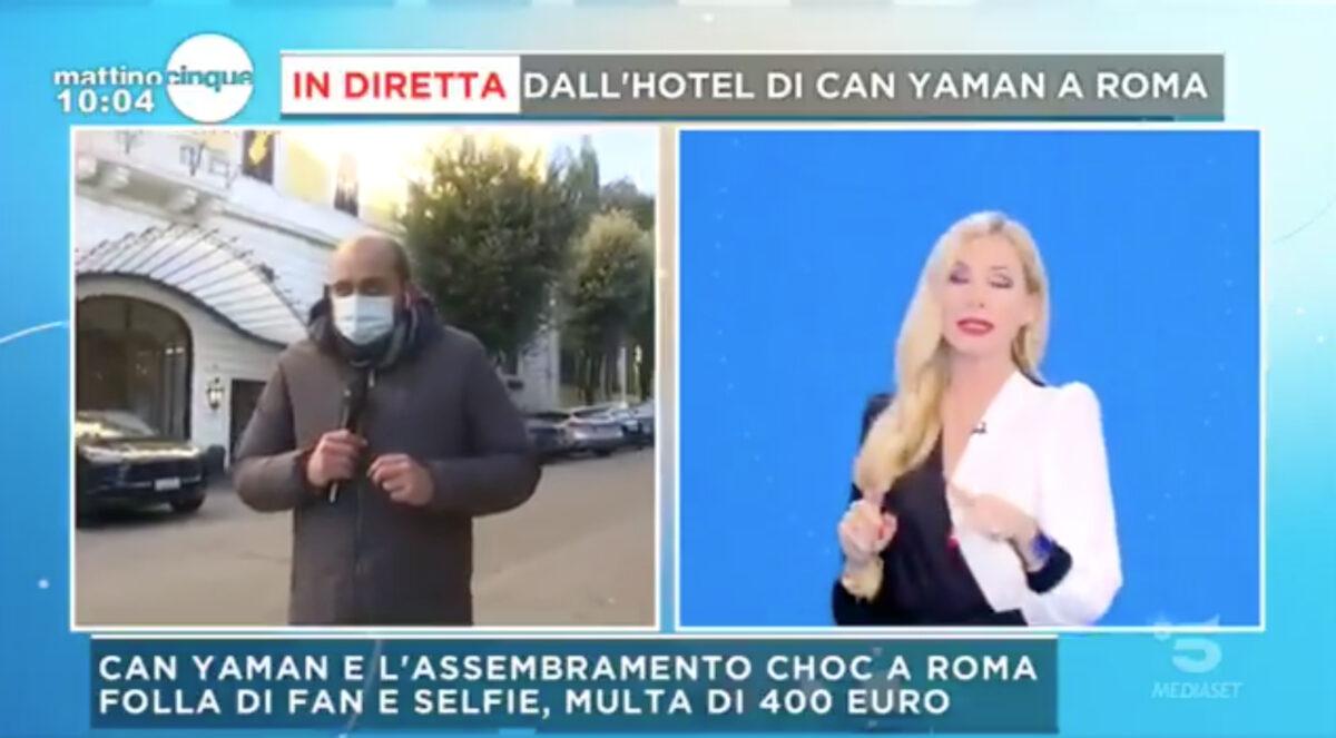 Mattino 5: Can Yaman rischia grosso