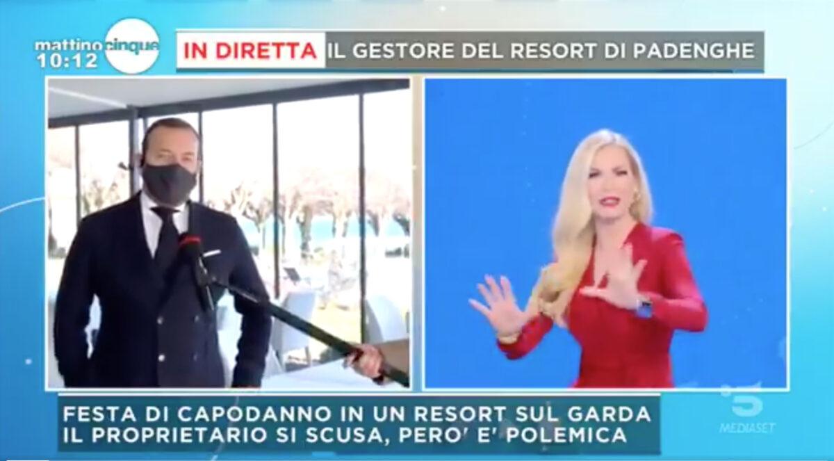 """Mattino 5: nuove indiscrezioni sul caso """"Resort sul Garda"""""""