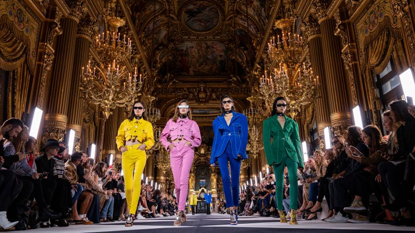 Balmain : Runway – Paris Fashion Week – Womenswear Spring Summer 2020