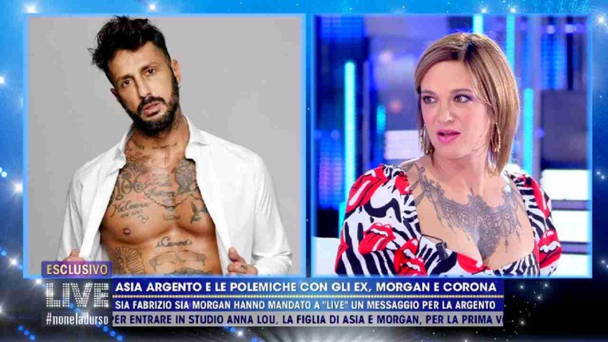 Fabrizio Corona e Asia Argento insieme?