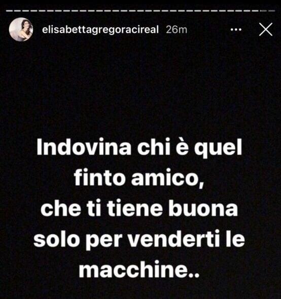 GF Vip, Gregoraci infuriata su Instagram, Oppini colpevole?