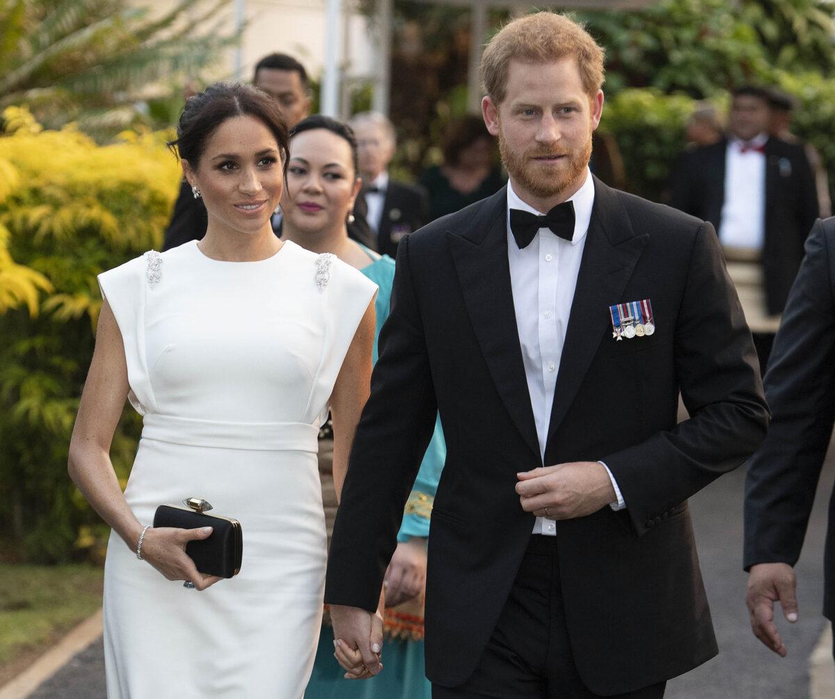 Tonga Britain Royals