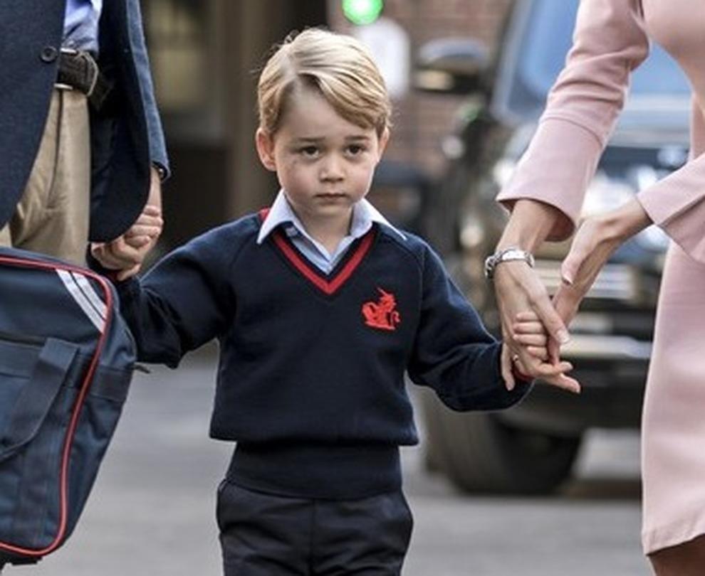 Baby George nel mirino di alcuni terroristi