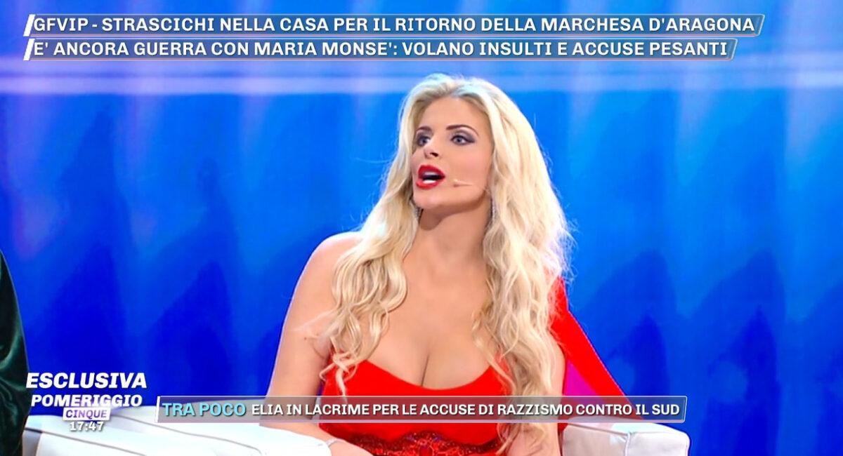 Pomeriggio 5, Francesca Cipriani sconvolge Barbara d'Urso