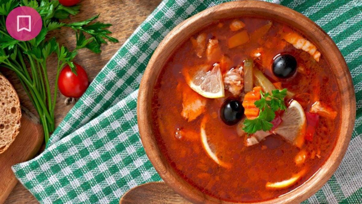 Solyanka: ricetta semplice e veloce