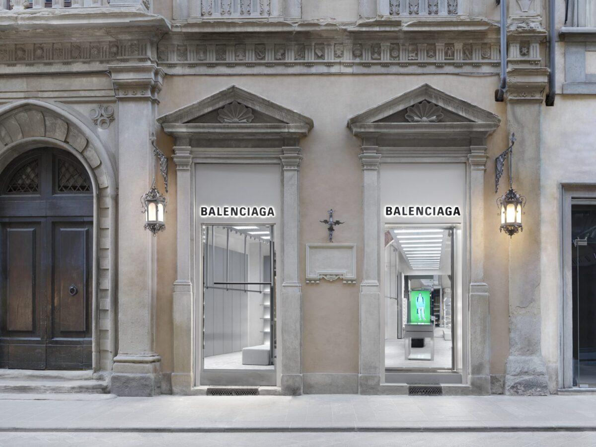 Balenciaga: apre un nuovo store a Firenze