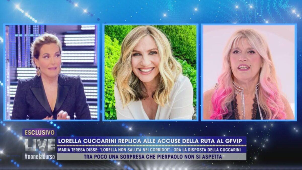 Live non è la d'Urso: nuovo scontro tra Cuccarini e Ruta