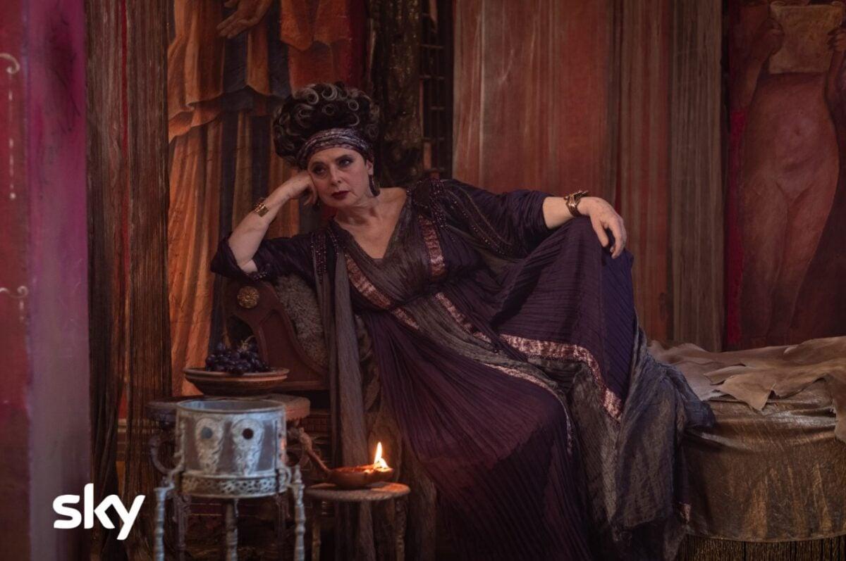 Isabella Rossellini in una scena di DOMINA