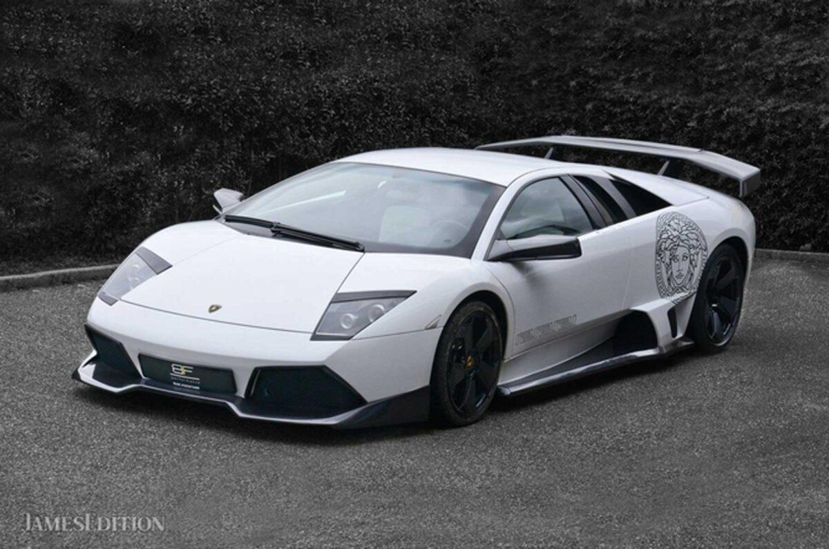 Lamborghini Murcielago Versace: in vendita l'auto da 700mila euro!
