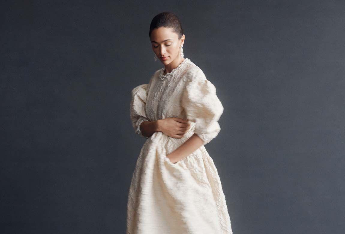 Simone Rocha: l'abito da sposa romantico