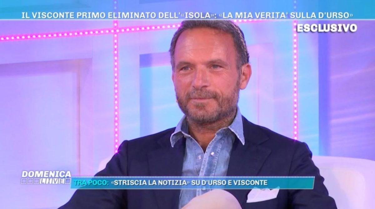Domenica Live: Barbara d'Urso rifiuta Ferdinando Guglielmotti