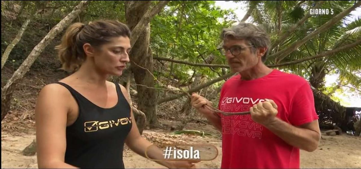 Isola dei famosi a pezzii: Elisa Isoardi e Brando Giorgi abbandonano