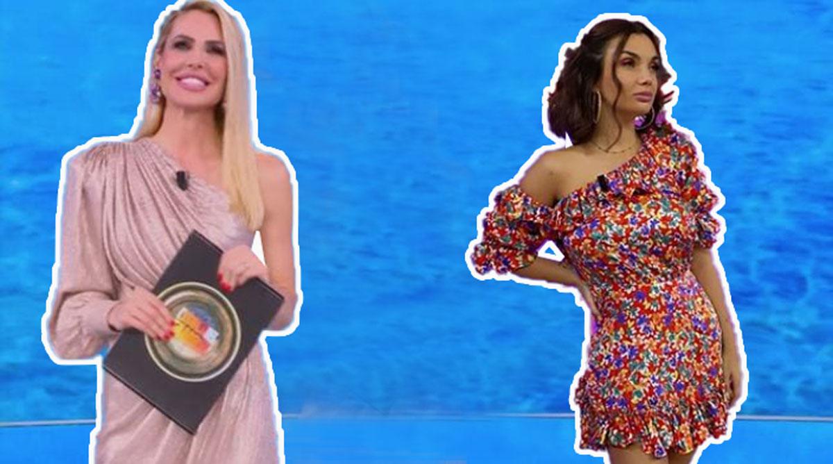 Isola dei famosi: Outfit Elettra Lamborghini e Ilary Blasi, costo e brand