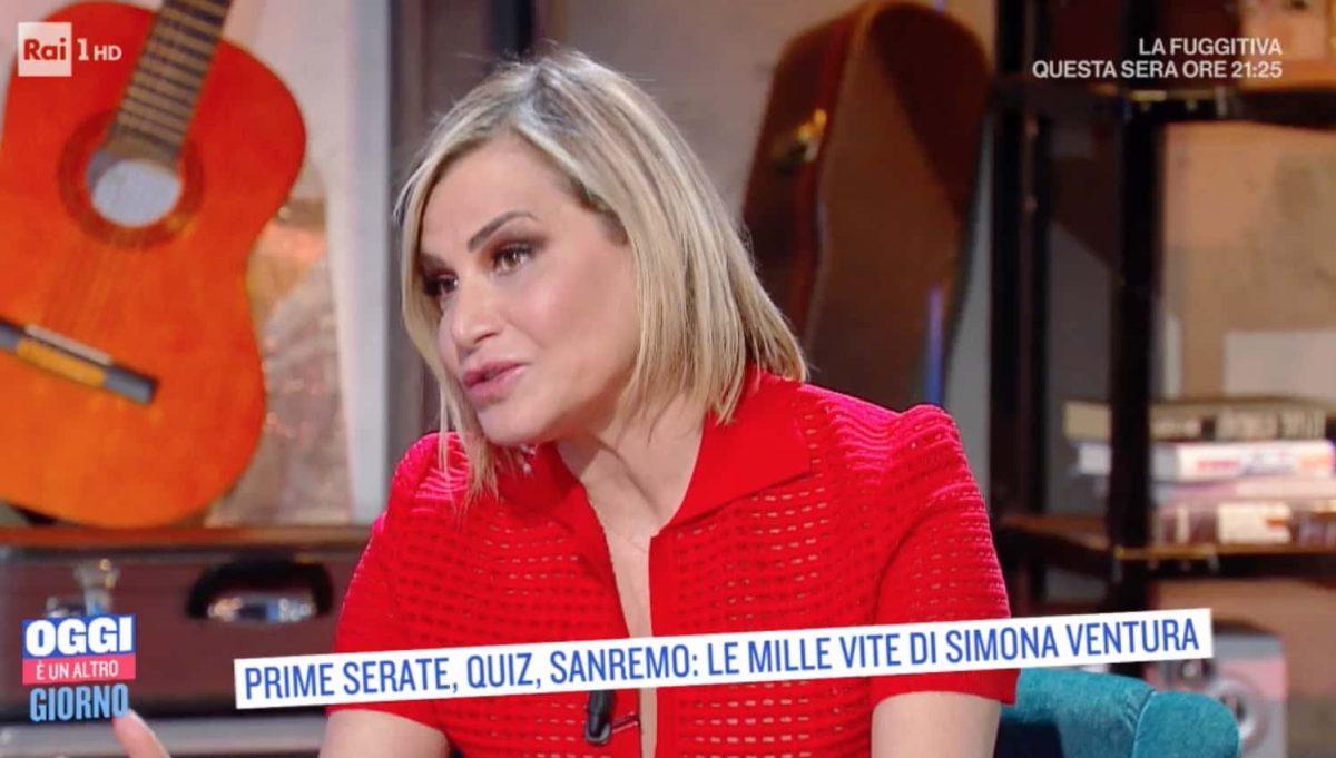 Simona Ventura sorpresa di Giovanni Terzi