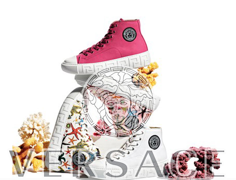 Versace, nuova sneaker: La Greca