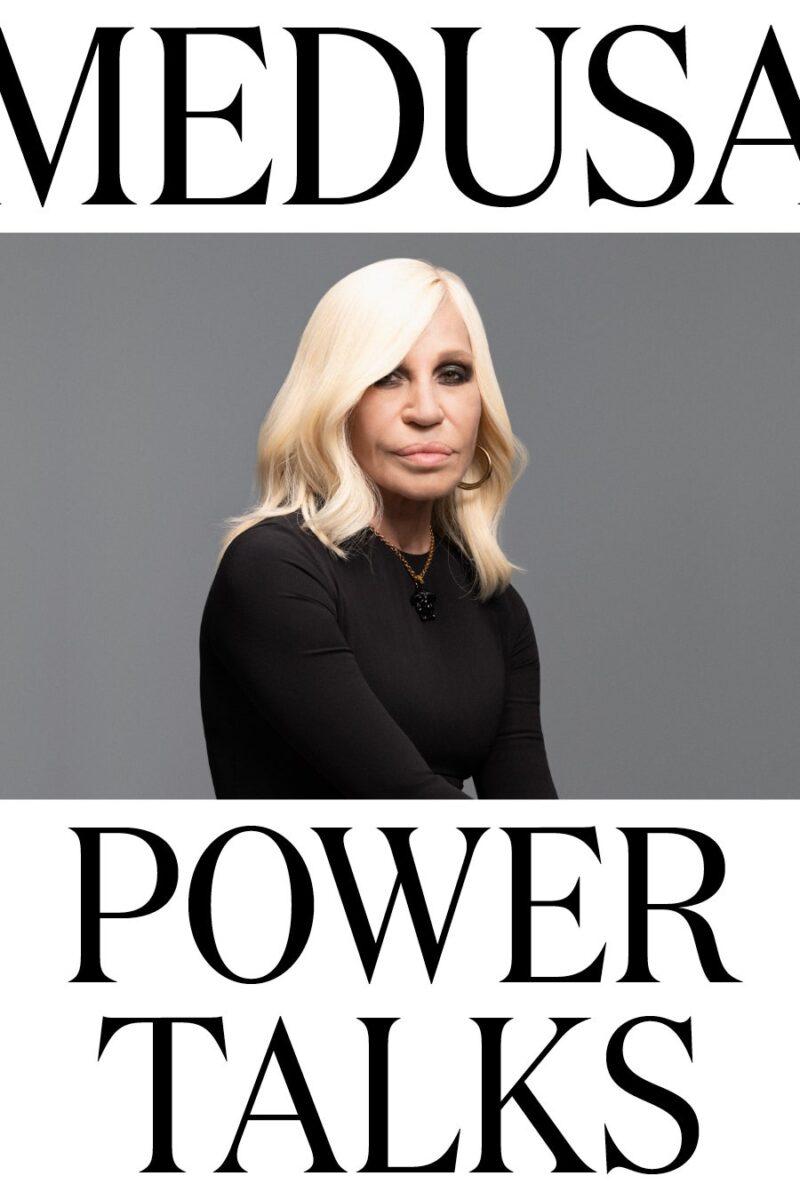 "Versace, nuovo progetto digitale: ""Medusa Power Talks"""