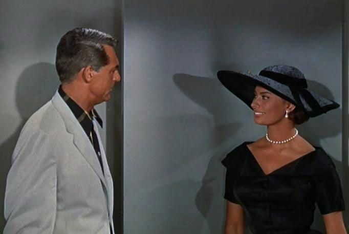 Cary-Grant-Sophia-Loren-in-Houseboat-trailer